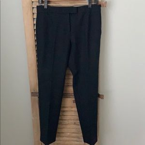 Ann Taylor tailored ankle pants (black)  - size 4